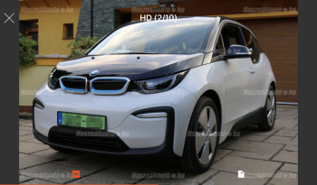 BMW i3 120 Ah 2019 megtelt